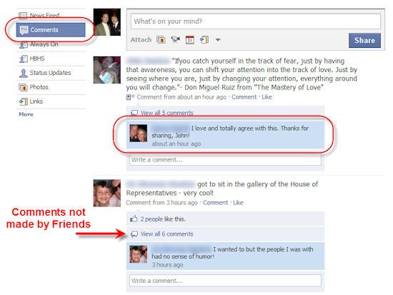 facebook-comment-app-prototype