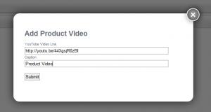 How to Upload a YouTube Video in Volusion